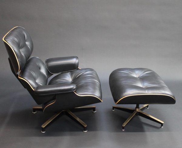 bespoke eames lounge chair photo side view